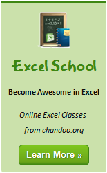 Super-mini Quick Update on Excel School