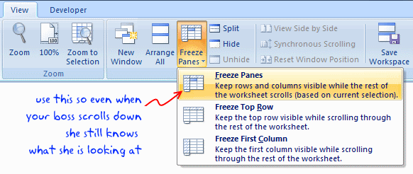 how to make excel sheet
