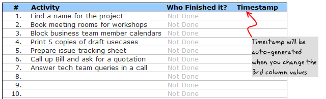 Project To Do List Templates | Todo List Task List Templates For Project Management Dowload