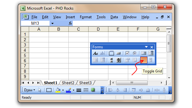 Excel 2003 disable toolbar options