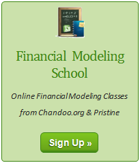 Excel Financial Modeling - Online Training Program from Chandoo.org & Pristine