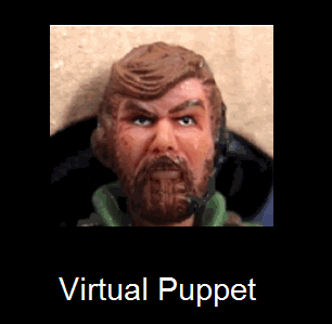 A virtual puppet made using slider control is a good way to tell stories and engage students