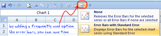 add error bars excel2007
