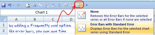 add error bars excel2007