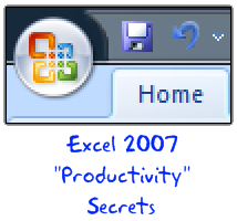 Do you know these Excel 2007 Productivity Secrets (Hint: Coffee is not one of them)