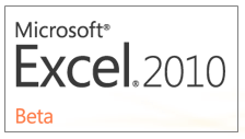 Office 2010 - Microsoft Excel - Download Beta Today