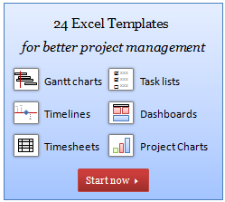 The Project Management Bundle For Excel Is Here, Download Your Copy Today  Project Burndown Chart Template