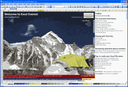Review of Excel Everest  - Excel Learning Tool