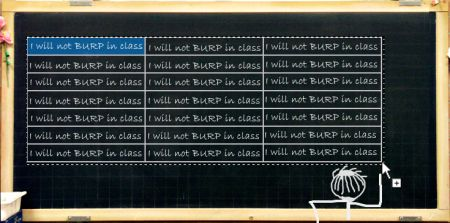 excel autofill on blackboards :)