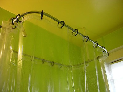 Shower Curtain & Rings