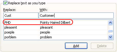 Reduce your typing by using auto correct - Excel Customization Hacks