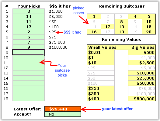 deal-or-no-deal-excel-games-how-to-play
