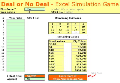 excel-deal-or-no-deal-game-simulation