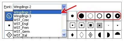 insert-symbol-wingdings-font-excel