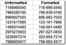 Generating Random Phone Numbers