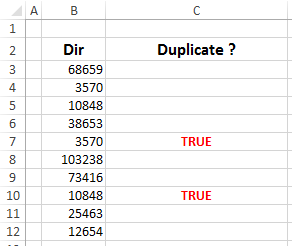 Formula Forensics No. 026 – Highlight Only Duplicate Entries