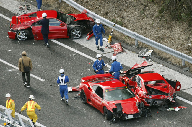 Chandoo_Big Trouble in Little Spreadsheet_Crashed Ferraris