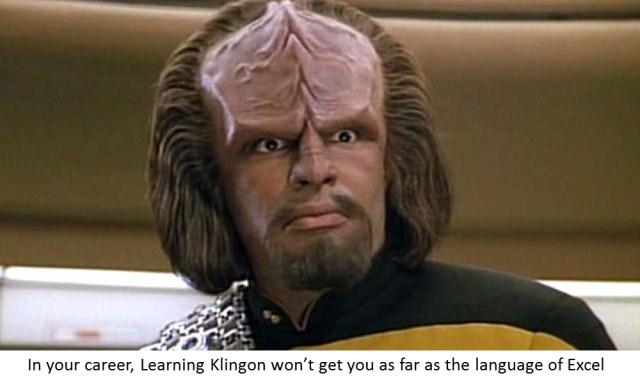 klingon-vs-excel