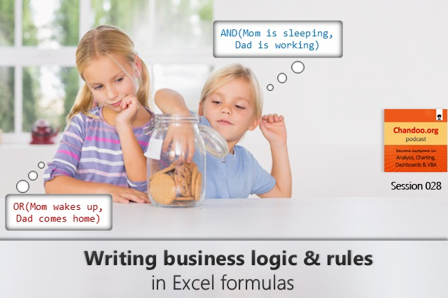 CP028: How to tell business logic & rules to Excel?