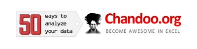 50 Ways to analyze data - an online training program from Chandoo.org
