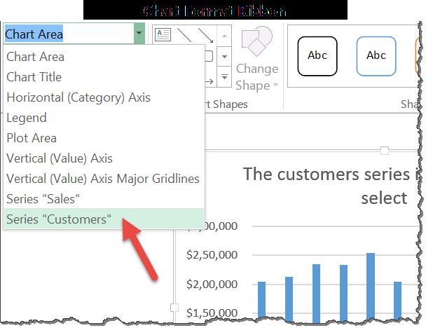 using-chart-format-ribbon-to-select-items