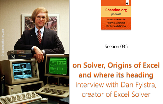 CP035: on Solver, its story and future – Interview with Dan Fylstra