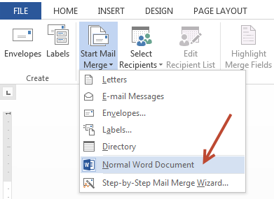 mail-merge-from-regular-word-document