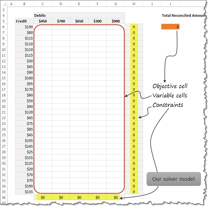 reconcile-debits-credits-solver-model-workbook-screenshot
