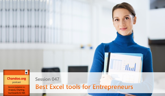 CP047: Best Excel tools for Entrepreneurs