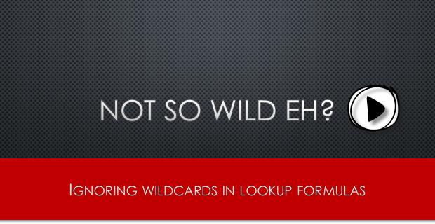 Not so wild lookups [video]