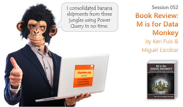 CP052: Book Review – M is for Data Monkey by Ken & Miguel