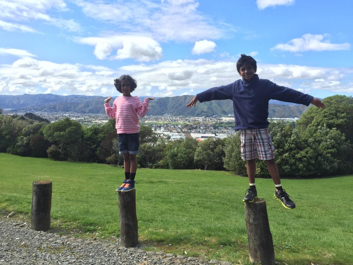kids-in-percy-scenic-reserve