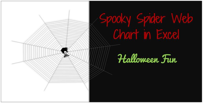Celebrate with spider web chart [Halloween Fun]
