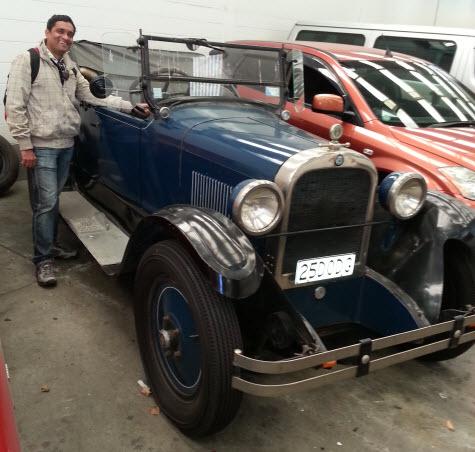 Chandoo's new car