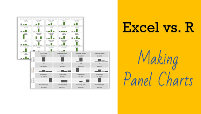 Employee Performance Panel Charts – Excel vs. R [video]