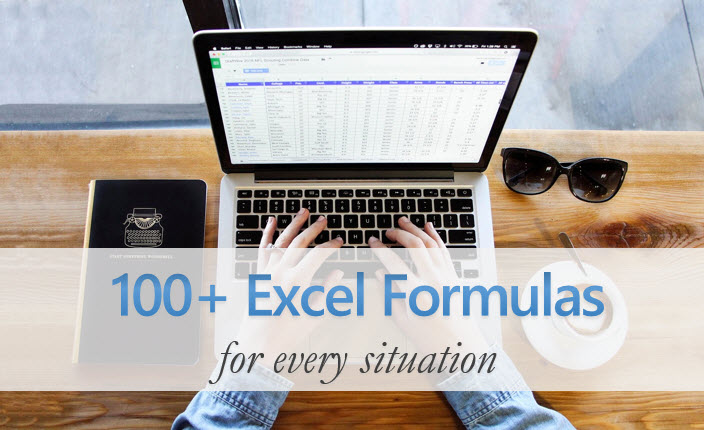 100+ Excel Formula Examples + List