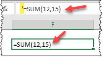 Excel formula showing as text - fix-3