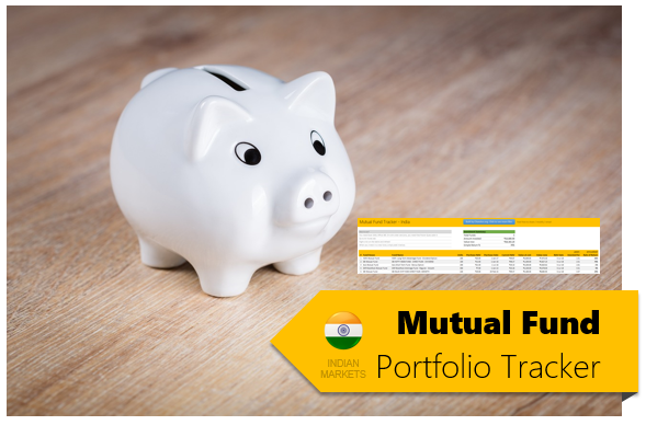 Mutual Fund Portfolio Tracker using MS Excel
