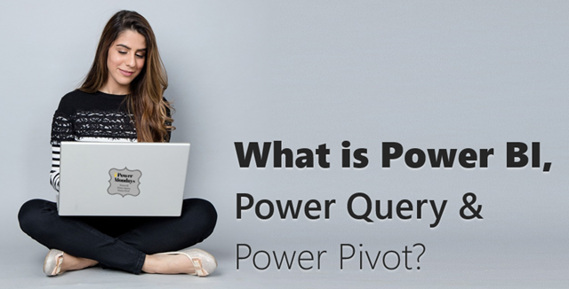 What is Power BI? what is power query and power pivot?