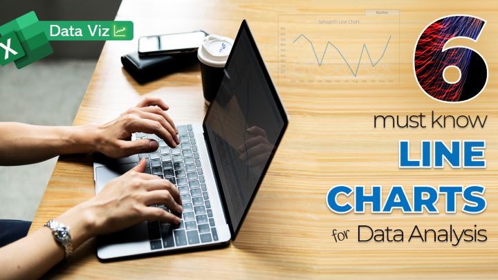 6 Must Know Line Chart variations for Data Analysis