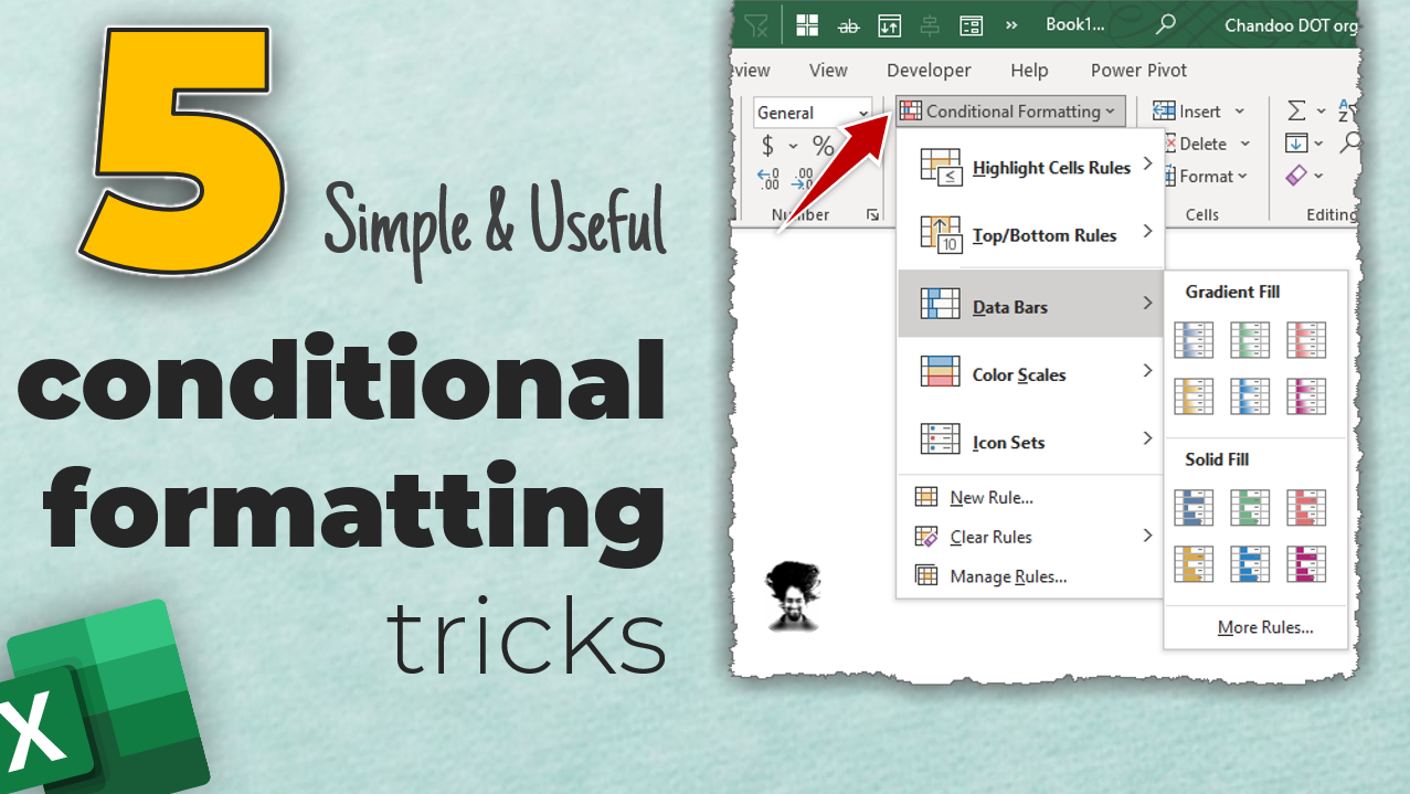 5 Simple & Useful Conditional Formatting Tricks